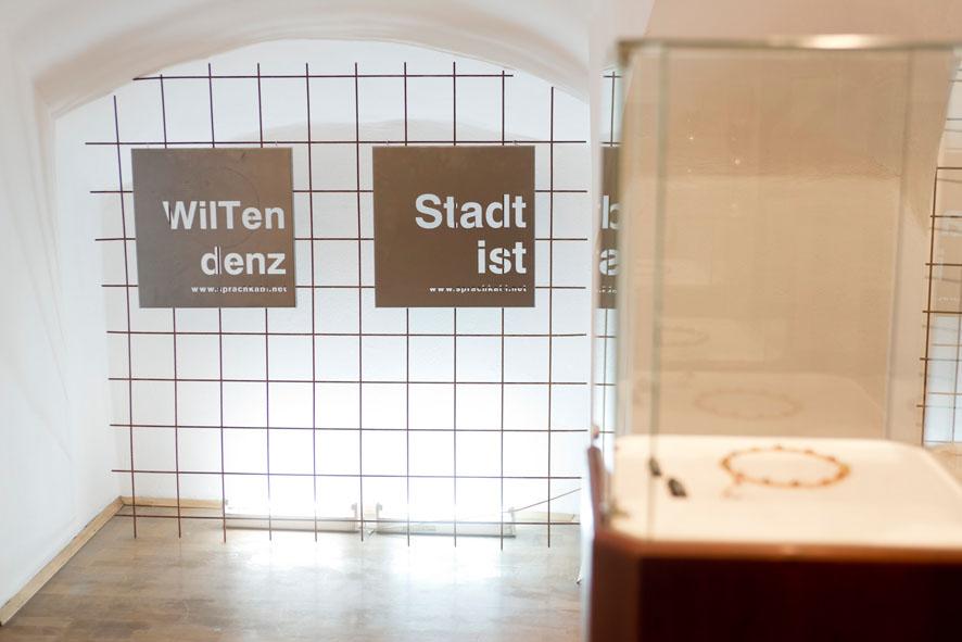 Ausstellung Wortkünstler Wilfried Schatz